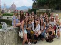 Florence Students Group photo