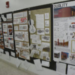 Projects on display.