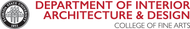 FSU Department of Interior Architecture and Design logo