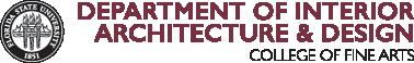 FSU Department of Interior Architecture and Design logo
