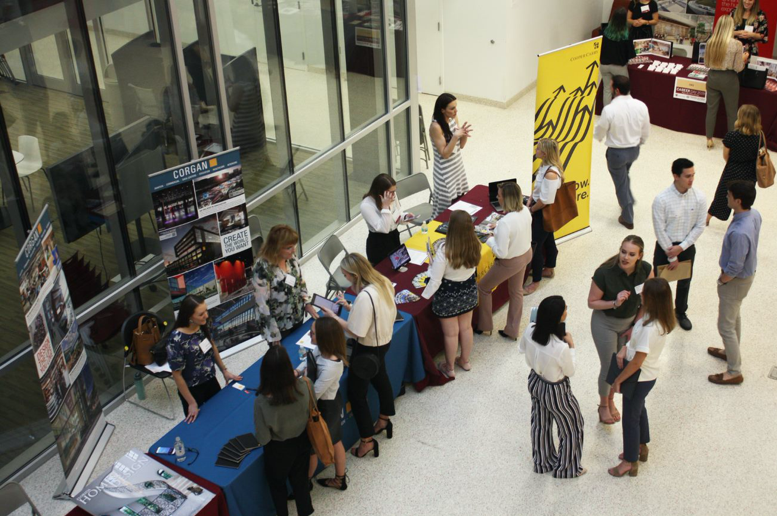 The annual Career Fair brings regional and national firms including Gensler, HOK, Disney and Corgan to campus seeking to hire students in internships and entry-level design positions
