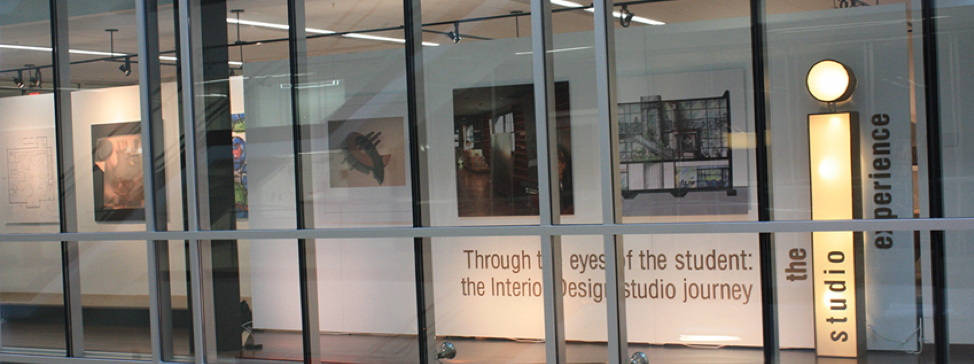 The William B. Johnston Building Gallery hosts design and other events that showcase student, faculty and other works
